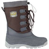 Snowboot Winter-Grip Men Northern Tracker Bruin Antraciet Okergeel