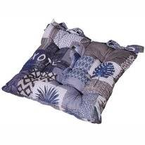 Toskana-Kissen Madison Tropic Blau (46 x 46 cm)