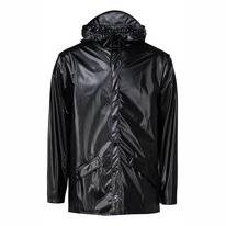 Imperméable RAINS Jacket Shiny Black