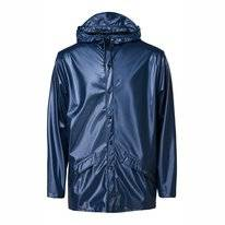 Imperméable RAINS Jacket Shiny Blue