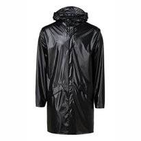 Imperméable RAINS Long Jacket Shiny Black