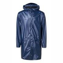 Imperméable RAINS Long Jacket Shiny Blue