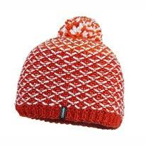 Muts Schöffel Knitted Hat Coventry2 Flame Scarlet
