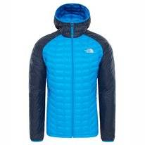 Jas The North Face Men Thermoball Sport Hoodie Bomber Blue Urban Navy