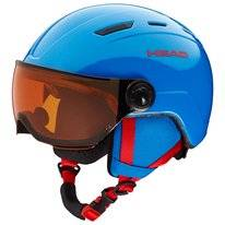 Skihelm HEAD Junior Mojo Visor Blue