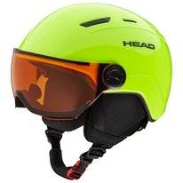 Skihelm HEAD Junior Mojo Visor Lime