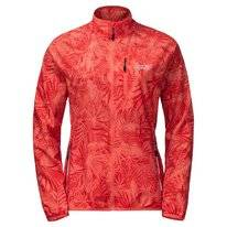 Jas Jack Wolfskin Flyweight Jungle Women Hot Coral All Over