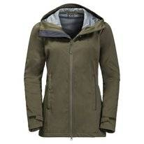 Jas Jack Wolfskin Women Green Valley Long Grape Leaf