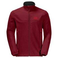 Jas Jack Wolfskin Men Crestview Red Maroon