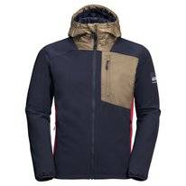 Jas Jack Wolfskin Men 365 Millenium Night Blue Peak Red
