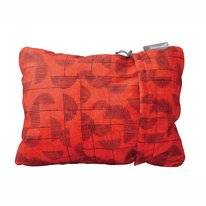 Reisekissen Thermarest Compressible Pillow Red Print Small