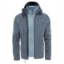 Winterjas The North Face Men Thermoball Triclimate Dark Grey Heather