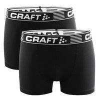 Boxershort Craft Men Greatness 3-Inch Black White (2 pack)