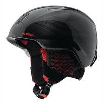 Skihelm Alpina Junior Carat LX Black-Lumberjack