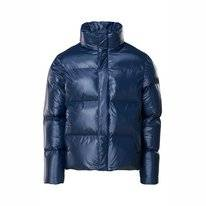 Veste RAINS Boxy Puffer Jacket Shiny Blue