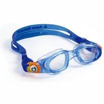 Zwembril Aqua Sphere Moby Clear Lens Kids Blue Orange