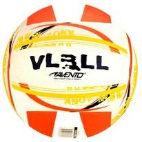 Balle de Volley de Plage Avento Caoutchouc Orange Blanc