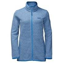 Vest Jack Wolfskin Caribou Striped Jacket Women Cool Water
