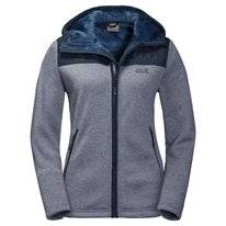 Vest Jack Wolfskin Women Pacific Sky Jacket Midnight Blue