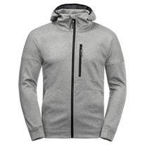 Vest Jack Wolfskin Men Riverland Hooded Light Grey