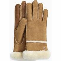Handschoen UGG Women Seamed Tech Glove Chestnut