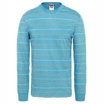 Shirt The North Face Men Stripes Tee Storm Blue