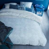 Bettwäsche Beddinghouse Impress Blau Mako Satin