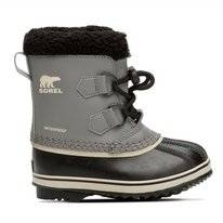 Bottes Sorel Childrens Yoot Pac TP Quarry Black