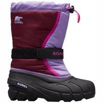 Bottes de Neige Sorel Youth Flurry Purple Dahlia