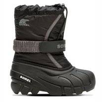 Bottes Sorel Enfants Flurry Black City