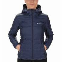 Jas Columbia Women Lake 22 Down Hooded Nocturnal