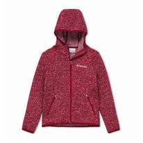Vest Columbia Youth Chillin Full Zip Fleece Pomegranate