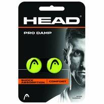 Racketdemper HEAD Pro Damp Yellow (12-delig)