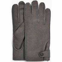 Handschoen UGG Men Sheepskin Side Tab Tech Glove Charcoal