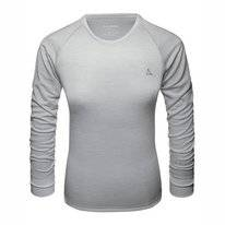 Undershirt Schöffel Women Merino Sport Shirt 1/1 Arm W Opal Grey