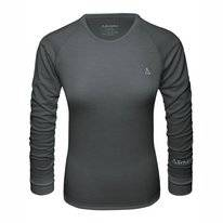 Undershirt Schöffel Women Merino Sport Shirt 1/1 Arm W Pirate Black