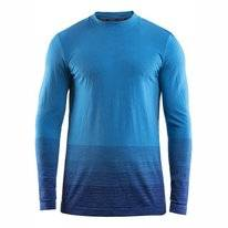 Long Sleeve T-Shirt Craft Wool Comfort 2.0 Men Blue