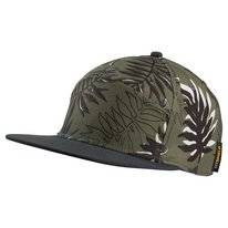 Cap Jack Wolfskin Leaf Woodland Green Allover