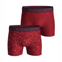 Boxershort Björn Borg Men Core Sammy Graphic Star Jester Red (2 pack)