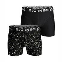 Boxershort Björn Borg Men Core Sammy Graphic Star Black Beauty (2 pack)