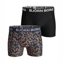 Boxershort Björn Borg Men Core Sammy Liberty Flower Black Beauty (2 pack)