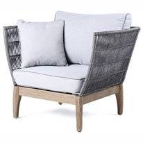 Loungestoel Miloo Home Parado Acacia Grey
