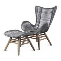 Loungestoel Miloo Home Parado Grey