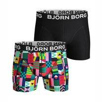Boxershort Björn Borg Men Core Geo Flag Sammy Mint Leaf (2 pack)