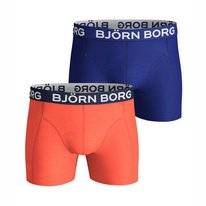 Boxershort Björn Borg Men Core Seasonal Solid Sammy Nasturtium (2 pack)