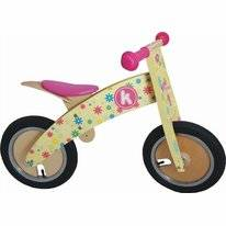 Loopfiets Kiddimoto Kurve Flower