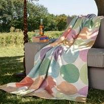 Picknickkleed Ibena Solare Cotton Pure Cirkels Multi