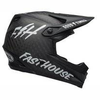 Fietshelm Bell Full-9 Matte Black White Funhouse