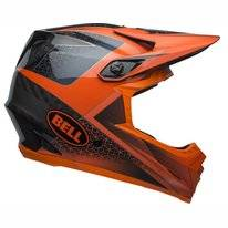 Fietshelm Bell Full-9 Matte Gloss Slate Dark Gray Orange
