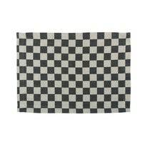 Placemat Elias Pompdoek Black (set van 2)